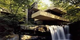 Дом Над Водопадом, Пенсильвания, США