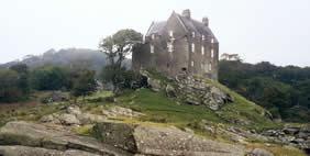 Duntrune Castle, Argyll, Scotland