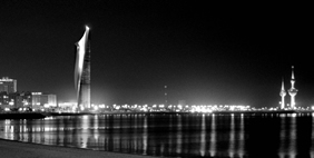 Al Hamra Firdous Tower, Kuwait City, Kuwait