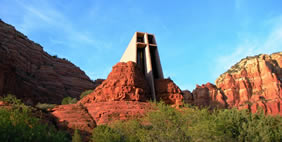 Chapel of the Holy Cross, Sedona, Arizona, USA