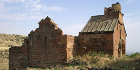 Artavazik Church, Byurakan, Armenia