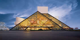 Rock and Roll Hall of Fame and Museum, Ohio, USA