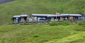 Eielson Visitors Center, Alaska, USA