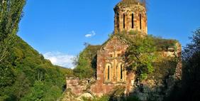Khutchap Monastery, Privolnoye, Armenia