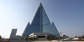 Ryugyong Hotel, Pyongyang, North Korea