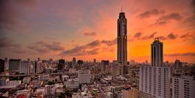 Baiyoke Tower II, Bangkok, Thailand