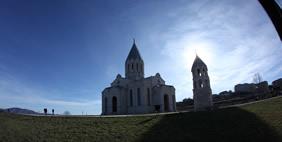 Ghazanchetsots Cathedral (Shushi), Armenia