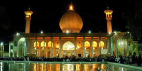 Shah Cheragh Mausoleum, Shiraz, Iran