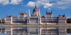 Здание Венгерского Парламента, Будапешт, Венгрия