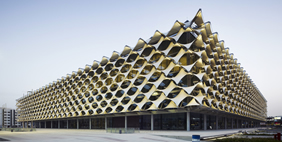King Fahad National Library, Riyadh, Saudi Arabia