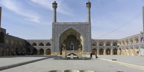 Jameh Mosque, Isfahan, Iran