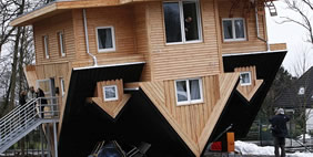 Upside Down House, Gettorf, Germany