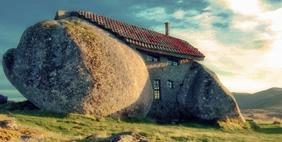 Քարե (Դարի) Տուն,  Լեռ Ֆաֆե, Պորտուգալիա