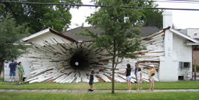 Hole House, Huston, Texas, USA