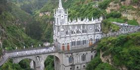 Las Lajas Cathedral, Ipiales, Colombia