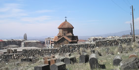 Karmravor Church, Ashtarak, Armenia