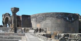 Храм Звартноц, Вагаршапат, Армения