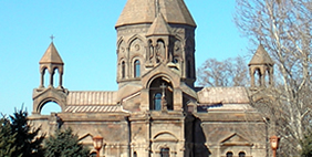Echmiadzin Cathedral, Vagharshapat, Armenia