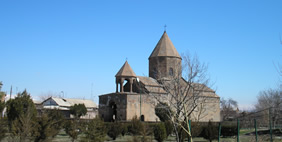 Shoghakat Church, Vagharshapat, Armenia