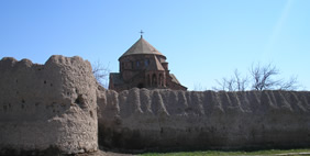St. Hripsime Church, Vagharshapat, Armenia